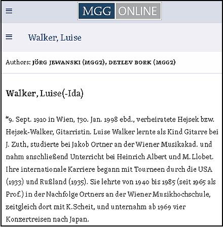 MGG Online (Die Musik in Geschichte und Gegenwart)
